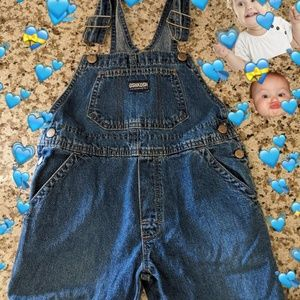 Oshkosh Jean Toddler Overalls💙🐳